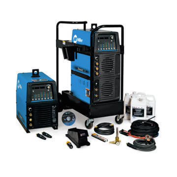 Miller Dynasty 350 Tig Welder (with wireless foot pedal)