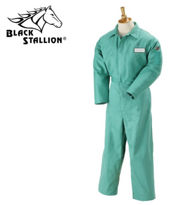 "Revco Black Stallion TruGuard™ 200 FR Cotton Coverall - 32"" Inseam #F9-32CA/PT"