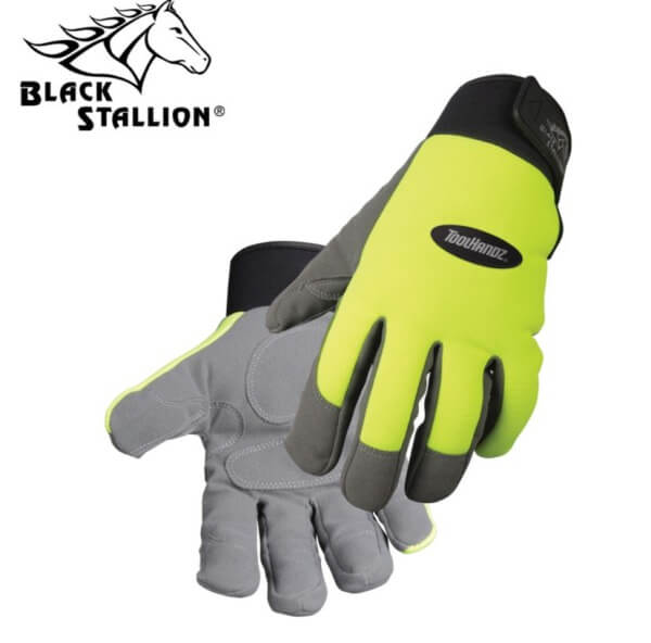 Black Stallion ToolHandz® Synthetic Leather Mechanic's Gloves #GX1215HG