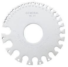 General Tools Sheet Metal Guage
