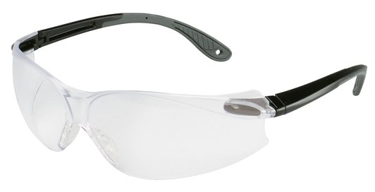 3M™ Virtua™ V4 Protective Eyewear 11672-00000-20 Clear Anti-Fog Lens, Black/Gray Temple #70071540382