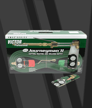 Victor Heavy Duty Journeyman II Propylene Torch Kit Outfit Heavy Duty