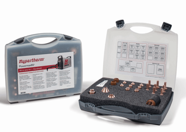 Hypertherm Powermax 65 consumables: spare parts kit