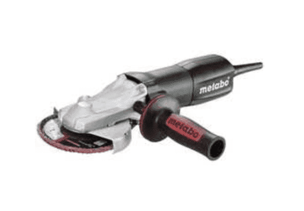 Metabo 910 Watt Electronic Flat-Head Angle Grinder