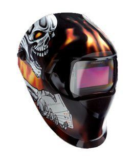 Speedglas 100 Series Auto Darkening Welding Helmet (ACES HIGH)