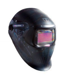238497 Black MILLER ELECTRIC Welding Helmet,Shade 8 to 12,Black