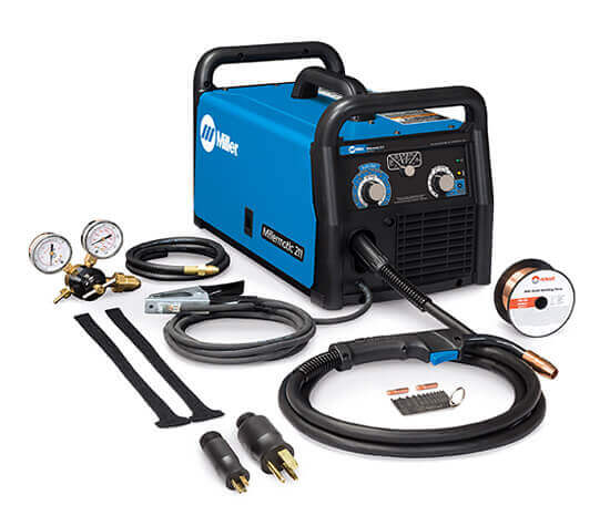 Millermatic 211 Auto-Set Mig Welder +FREE gloves Copy