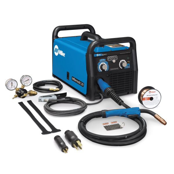 Millermatic 211 Auto-Set Mig Welder +FREE gloves