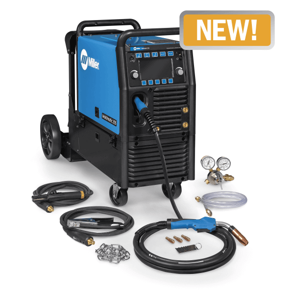iller Multimatic® 255 Multiprocess Welder w/ EZ-Latch™ Running Gear
