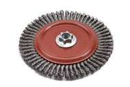 Norton Stringer Bead Knot Wire Wheel Brushes (5 x .020 x 5/8-11)