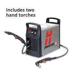Hypertherm Powermax 65, 75° & 15° Hand Torches, 25', CPC & Voltage Div.