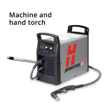 Hypertherm Powermax 85 (Machine + Hand Torch) w/ CPC & Remote Pendant