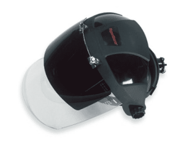 Hypertherm Dual Face Shield Helmet, Shade 6 (for <60A)