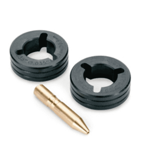 Miller .035 V-Knurl Drive Roll Kit — for Flux Cored Wire