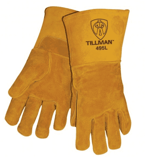 Tillman Stick Welding Gloves, Pigskin
