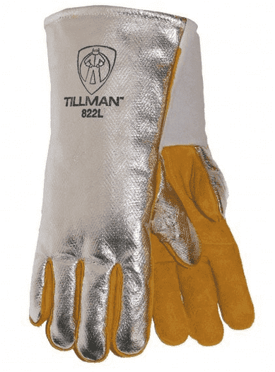 Tillman High Heat Gloves with Aluminized Back