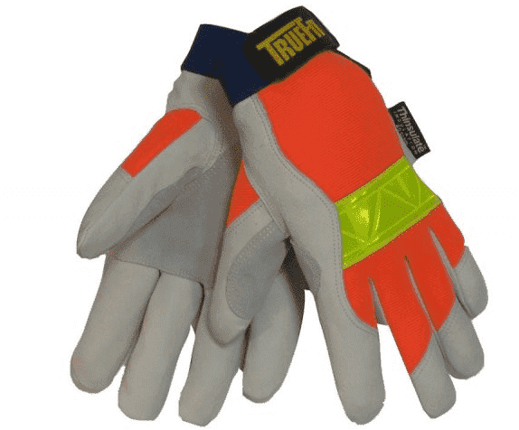 Tillman TrueFit Hi-vis Insulated Pigskin Gloves