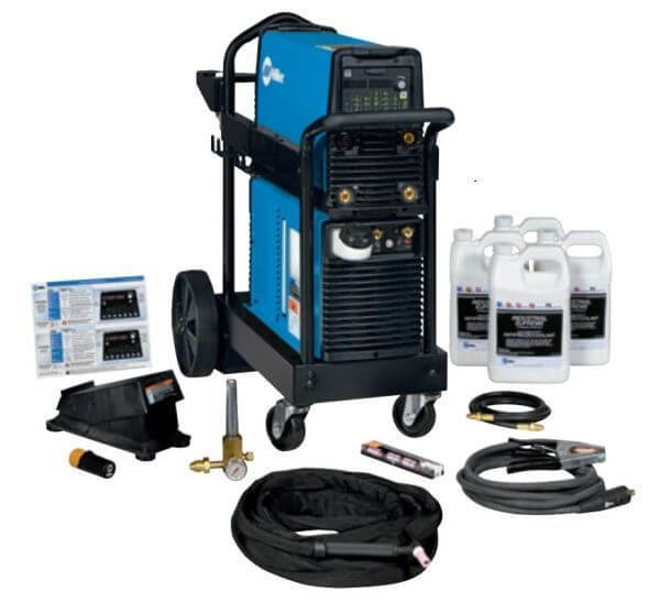 Miller Dynasty 210 DX 120-480 V, Wireless Foot Control Complete Package