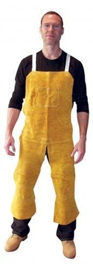 Tillman Split Leg Leather Bib Apron
