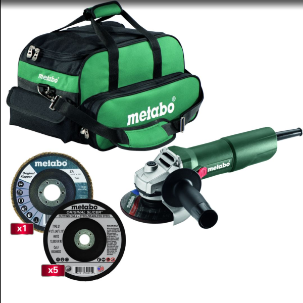 Metabo W750-115 7.0 Amp System Kit #US3003