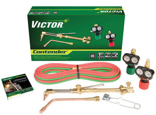 Victor Contender Heavy Duty Outfit, 540/300 ESS3 EDGE Regulators