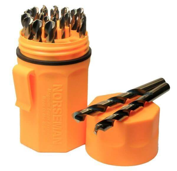 Norseman High Performance 29 Pc Drill Bit Kit