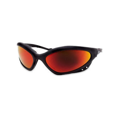 Miller Smoked Safety Glasses Black Frame