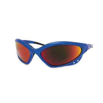Miller Smoked Safety Glasses Blue Frame