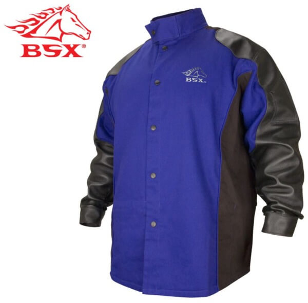 Revco Black Stallion BSXu00c2u00ae Hybridu00e2u201eu00a2 FR Cotton/Grain Pigskin Jacket #BXRB9C/PS | Welders Supply ...
