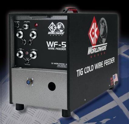 CK WorldWide WF-5 Tig Cold Wire Feeder