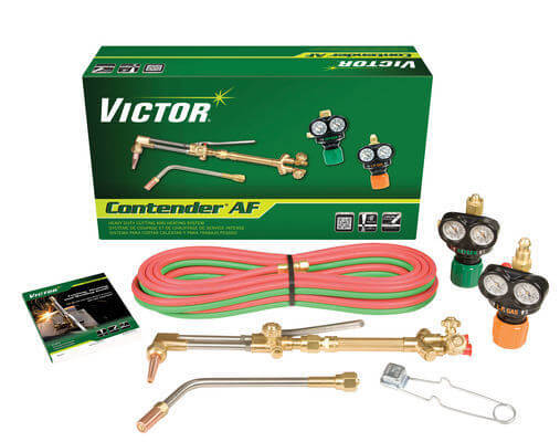 Victor Contender AF Heavy Duty Outfit, 540/510LP ESS3 EDGE Regulators