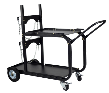 Metal Man Heavy Duty Single/Dual Bottle Welding Cart UWC4
