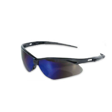 Jackson Nemesis Safety Glasses Blue Mirror lens