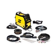 ESAB Rebel EMP 215ic Multi-Process MIG/TIG/Stick Package +Gloves