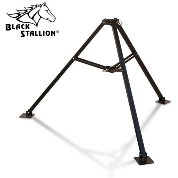 Black Stallion Tripod Stand for FR Industrial Umbrella #UB50