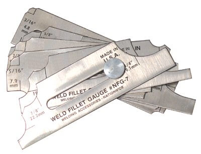 Anchor Weld Fillet Gauge #NFG-7