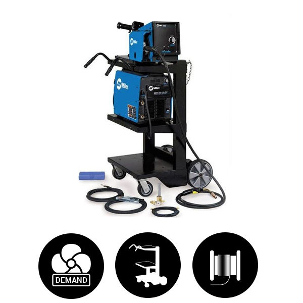 Miller® XMT® 350 CC/CV MIGRunner® with 20 Series Wire Feeder #951786