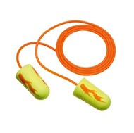 3M™ E-A-Rsoft™ Yellow Neons™ Blasts™ Corded Earplugs 311-1252, in Poly Bag Regular Size 2000 EA/Case #70071515160