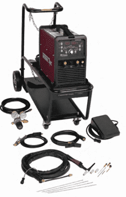 Thermal Arc 186 AC/DC Package w/Foot Control & Utility Cart