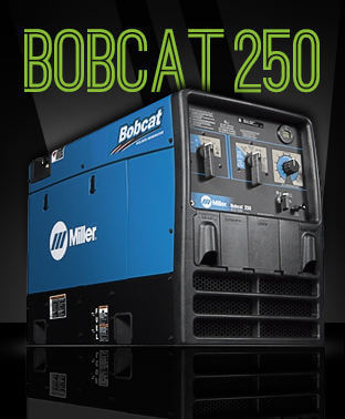 Bobcat 250 Millermatic welding machine