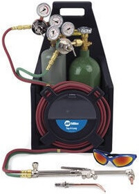 Gas/Oxy Acetylene Torch Kit Miller Outfits for Sale Online
