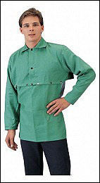 Tillman Fire Resistant Cotton Green Cape Sleeve #6221
