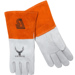 Steiner Industries Sof-Buck Premium Heavyweight Deerskin MIG Welding Gloves 02275