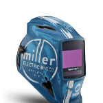 Miller Vintage Roadster Welding Helmet for sale