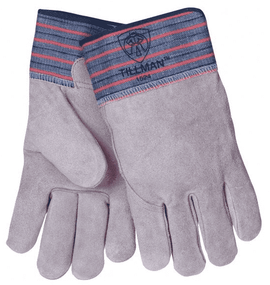 Tillman Cowhide & Cotton Work Gloves Part#1524