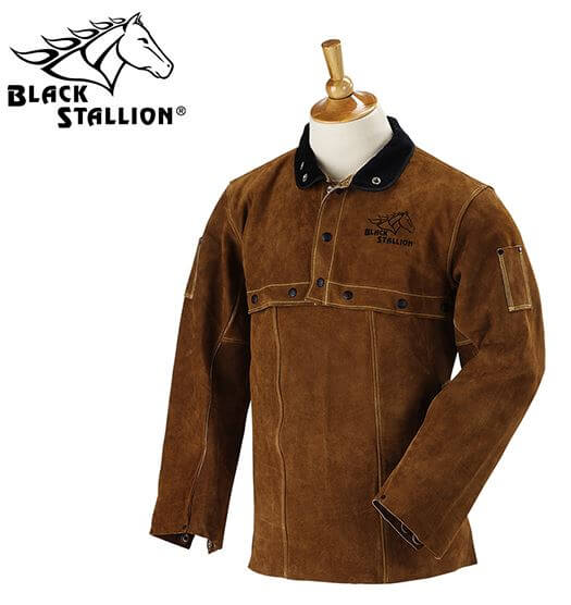 Revco Black Stallion Split Cowhide Cape Sleeves and 20