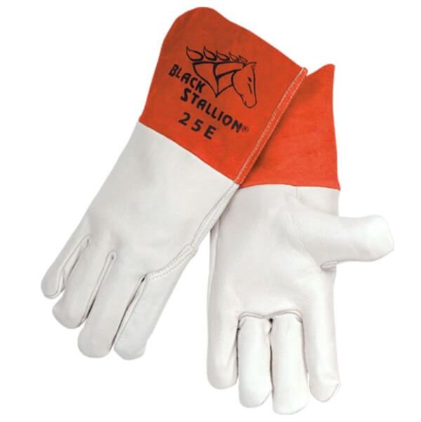 Revco Black Stallion Grain Cowhide MIG Glove #25E for Sale Online