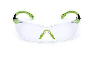 3M Solus Anti-Fog Safety Glasses 1000-Series (Green/Black) Part#S1201SGAF