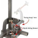 Strong Hand Welding Clamp (3 Axis) Part#WAC35-SW, #WAC45-SW