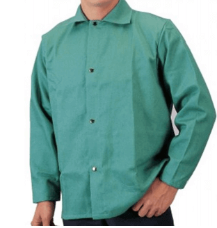 Tillman 6360 Freedom Flex 9oz FR Green Cotton Welding Jacket